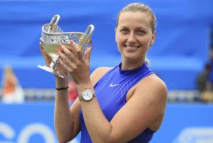 Petra Kvitová vyhrala v Anglicku. Bol to len jej druhý turnaj po návrate na kurty.