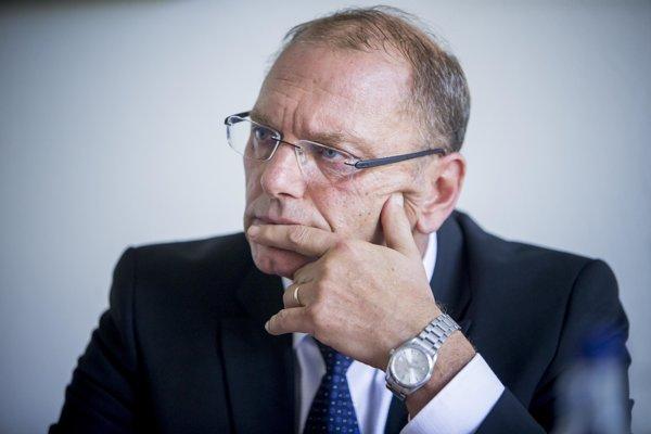 Šéf Sociálnej poisťovne Ľubomír Vážny.