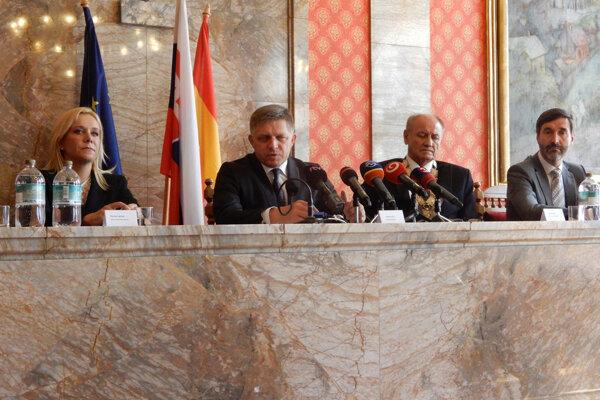 Premiér Róbert Fico navštívil v pondelok Ružomberok.