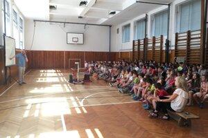 Deti prednáška Martina Odlera veľmi zaujala.