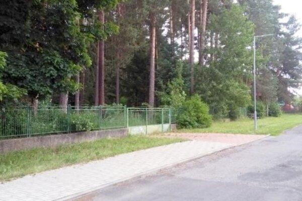 Bývalý vodný zdroj na Ulici kpt. Nálepku vLiptovskom Hrádku.