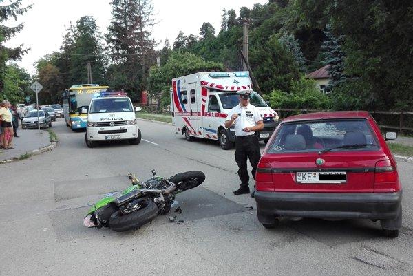 Polícia nehodu vyšetruje.