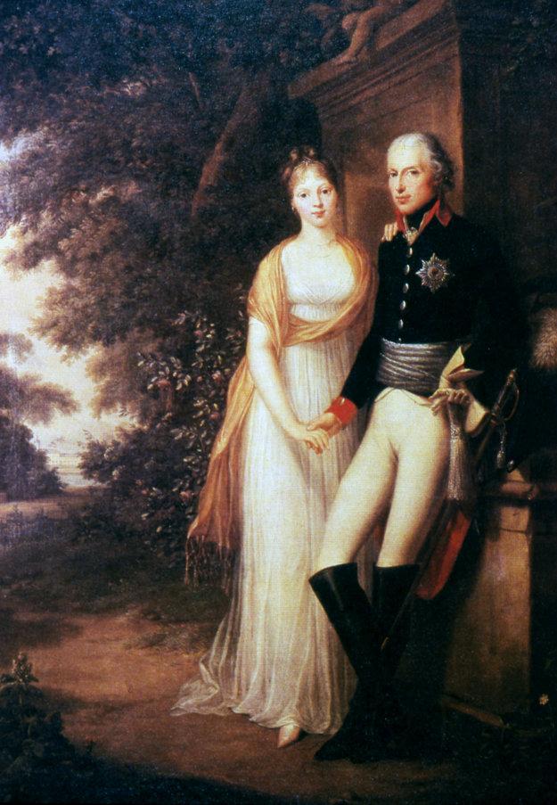 Pruský kráľovský manželský pár, Luisa a Fridrich Wilhelm III.