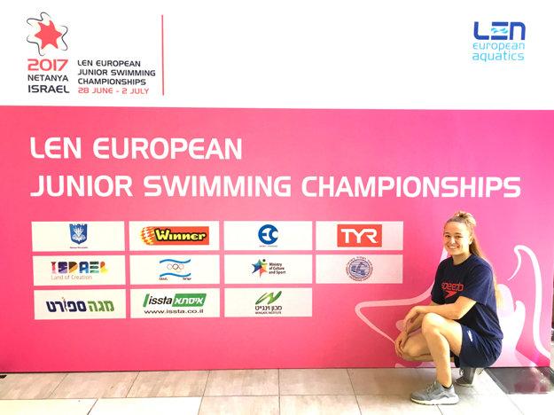 Na majstrovstvách Európy juniorov súťažila Robin s o dva roky staršími pretekármi.