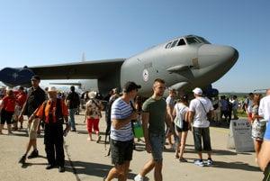 B-52 na letisku v Sliači.