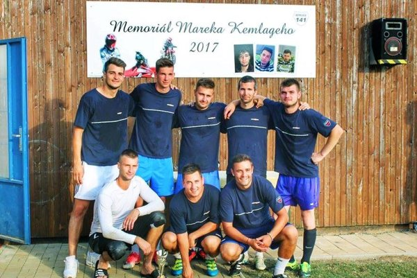 Víťazný Kemo team na Memoriáli Mareka Kemlágeho.