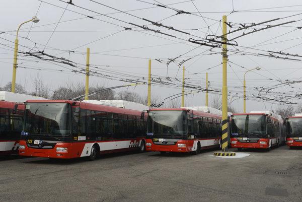 Nové trolejbusy. K 15 už kúpeným by chceli za eurofondy v Prešove ďalších 10.