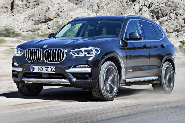 Nové BMW X3 tretej generácie. Model X3 patrí do segmentu  SAV – táto skratka znamená Sports Activity Vehicles, čiže čosi ako vozidlá pre športové aktivity.