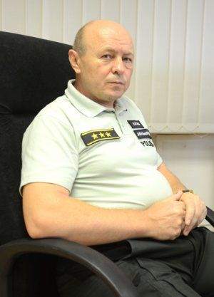 Rudolf Pilarčík, zástupca riaditeľa KR PZ Košíce.
