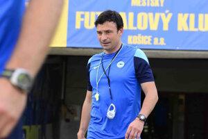 Samuel Slovák, tréner reprezentácie do 17 rokov.