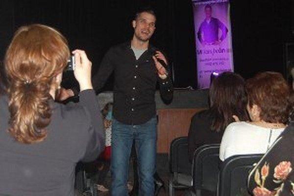 Spevák Milan Iván mal v Dolných Vesteniciach úspech.