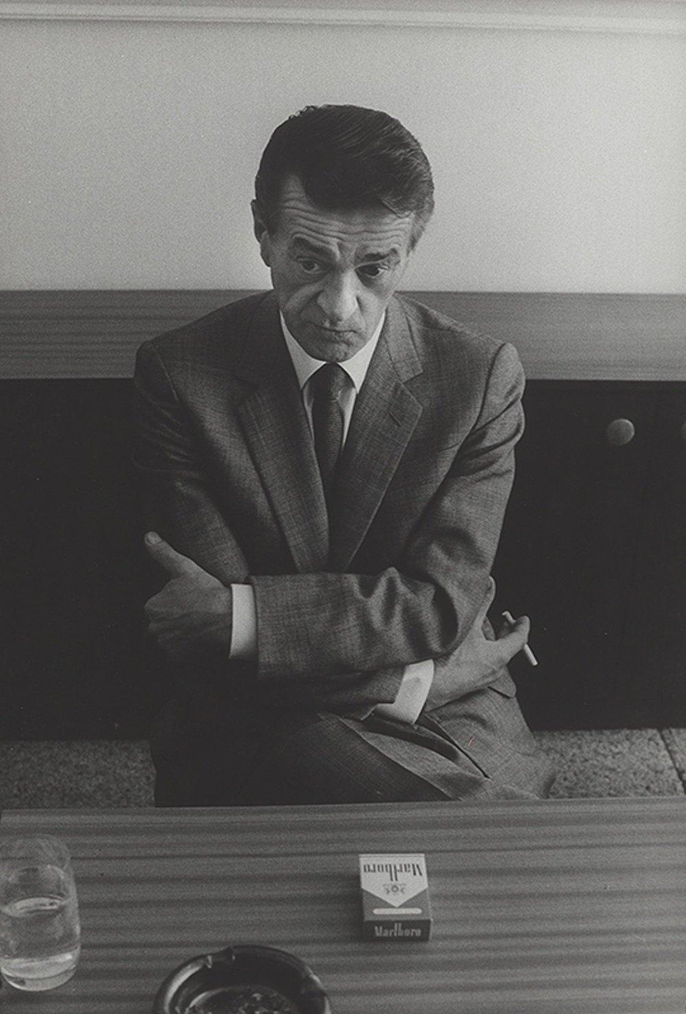 Portrét Miroslava Válka od fotografa Tibora Huszára, 1984-89, majetok SNG