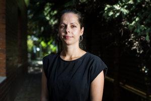 Šéfka slovenskej pobočky Amnesty International Kamila Gunišová.