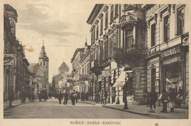Mlynská ulica - jedna z najfrekventovanejších ulíc Košíc.