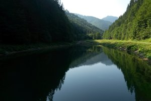 Tajch v Ľubochnianskej doline