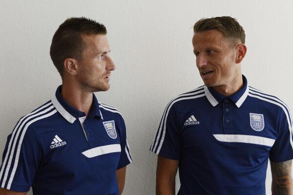 Dvojica skúsených: Miroslav Božok (vľavo) a Igor Žofčák.