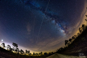 ISS nad Floridou.
