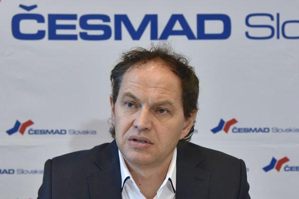 Prezident združenia Česmad Pavol Jančovič