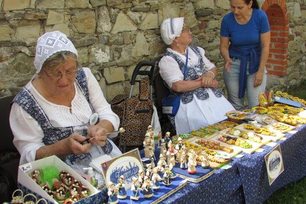 Návštevníci mali na výber z rôznych tradičných výrobkov.