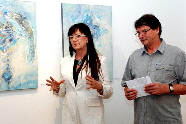 Kristína Šubjaková a Miroslav Bartoš.