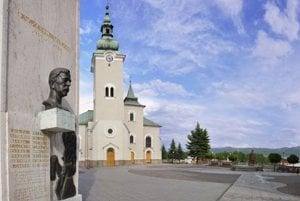 Kostol sv. Andreja v Ružomberku.