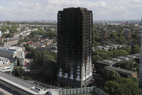 Požiar si 14. júna vyžiadal 72 mŕtvych.