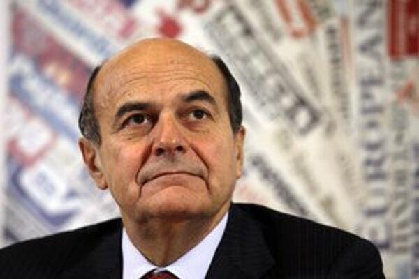 Pier Luigi Bersani.