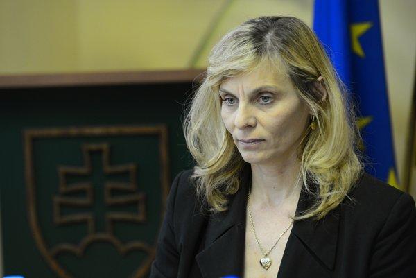 Slávka Jánošíková sa stala poverenou šéfkou sekcie cenovej regulácie.