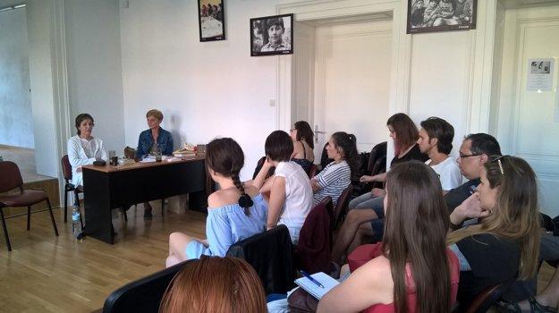Stanislava Repar. O svoje skúsenosti sa s mladými ľuďmi podelila aj spisovateľka.