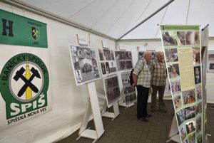 Výstava Baníckeho spolku Spiš počas 6. ročníka festivalu Made in Slovakia.