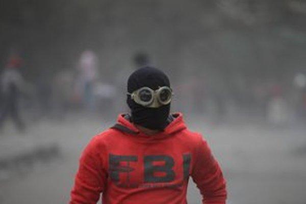 Čierny blok vznikol po decembrových zrážkach demonštrantov s políciou.