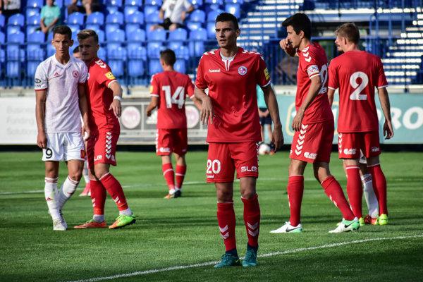 Zo zápasu 1. kola Fortuna ligy FK Senica - AS Trenčín.
