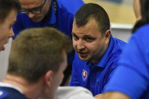 Tréner mladých Slovákov Richard Ďuriš.