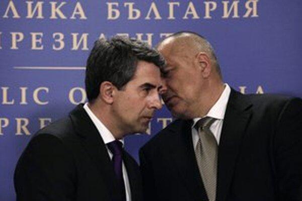 Bulharský prezident (vľavo) a premiér (vpravo).