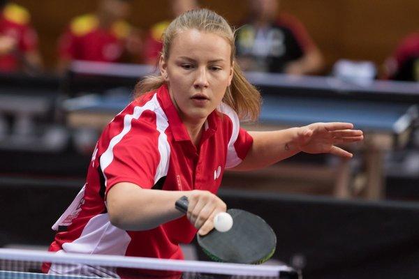 Natália Divinská z Tvrdošína sa predstavila na majstrovstvách Európy kadetiek po druhýkrát.