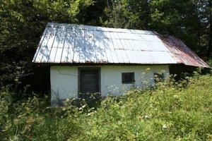 Objekt sauny stojí dodnes.