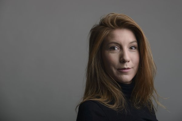Zavraždená švédska novinárka Kim Wallová.
