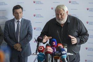 Generálny riaditeľ Železiarní Podbrezová Vladimír Soták.