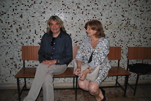 Braňo Mojsej s advokátkou Holováčovou na súde ešte v júni.