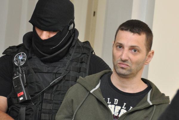 Odsúdený 34-ročný expiťovec Dávid Vyskočil.