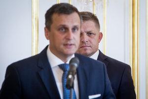 Premiér Fico a Andrej Danko.