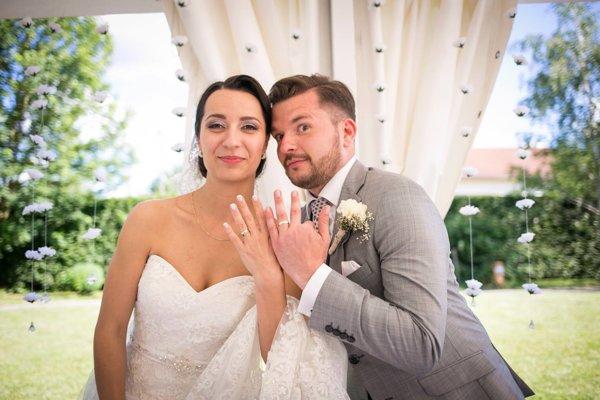 Folkloristická láska. S Dušanou sa zosobášili pred rokom.