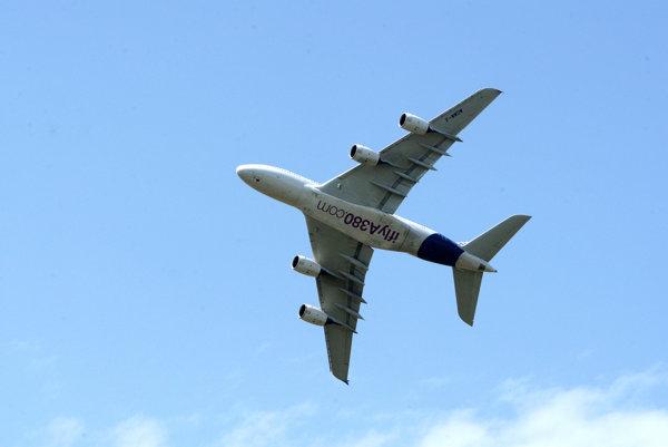 Najväčšie dopravné lietadlo Airbus A380