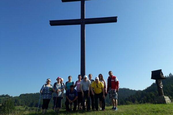 Krížová cesta v Kysuckom Lieskovci.