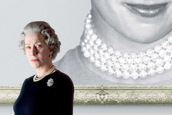 Helen Mirren ako Alžbeta II. vo filme Kráľovná.