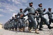 Afganskí policajti.