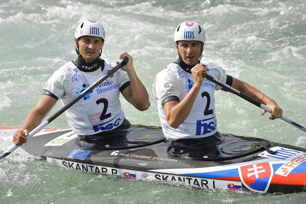 Ladislav (vpravo) a Peter Škantárovci sú poslednými víťazmi ankety.