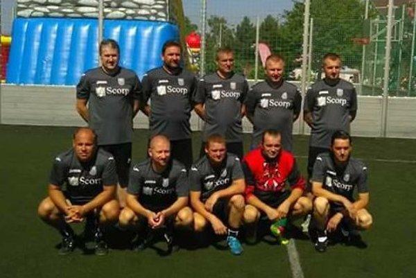 Víťazné mužstvo Michaloviec.