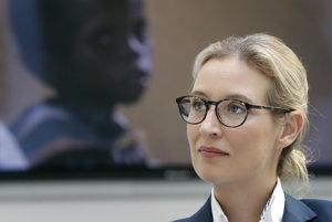Alice Weidelová z AfD.