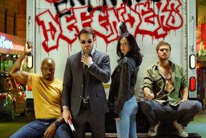 (Super)hrdnovia Netflixu sú: Luke Cage, Daredevil, Jessica Jones a Iron Fist.